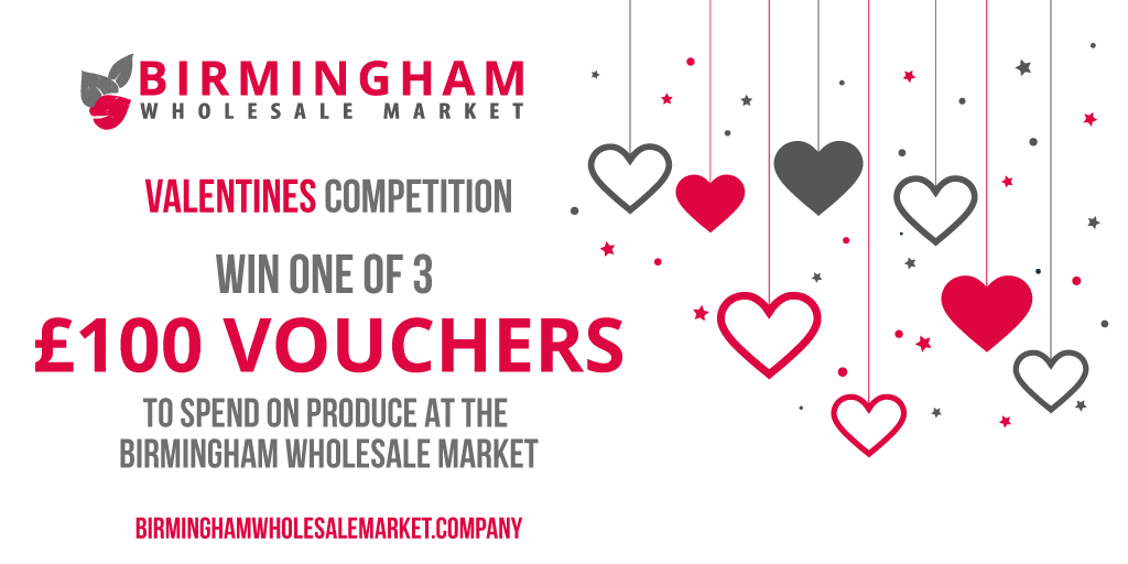 Valentines Competition at the Birmingham Wholesale Market