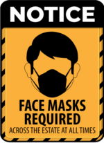 Masks Required on the Market Estate
