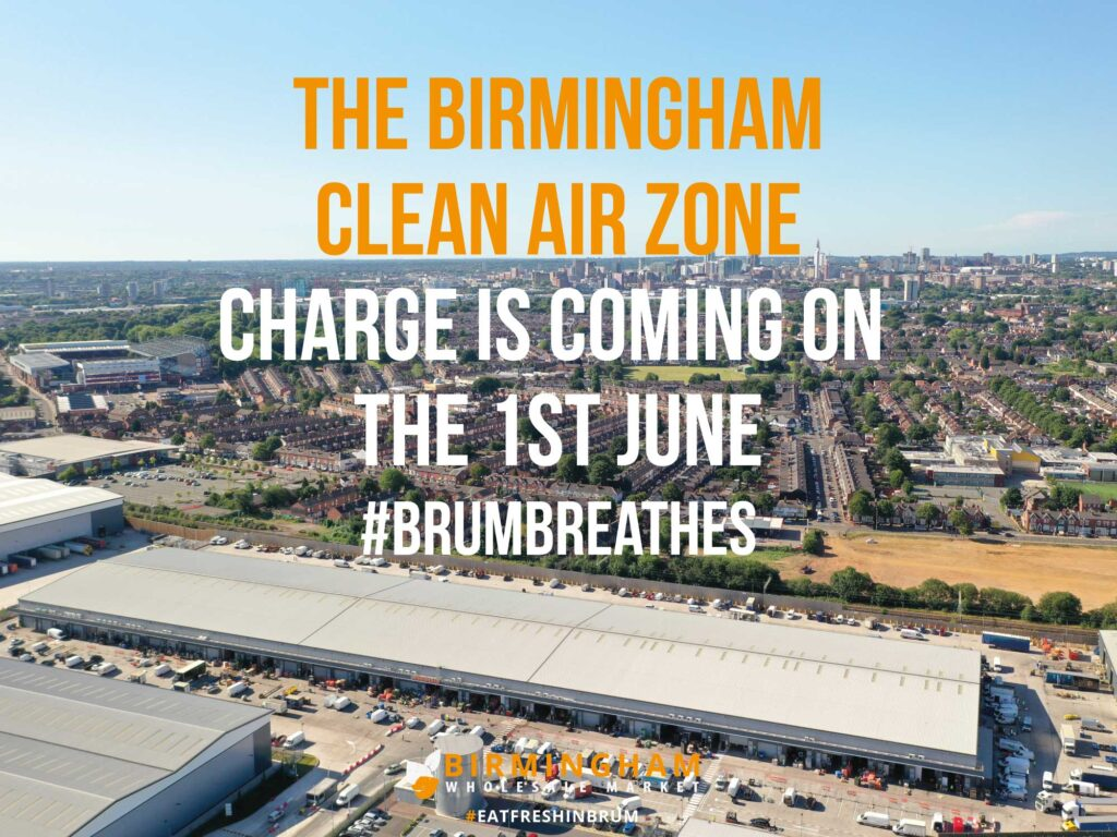 Birmingham Clean Air Zone Charge